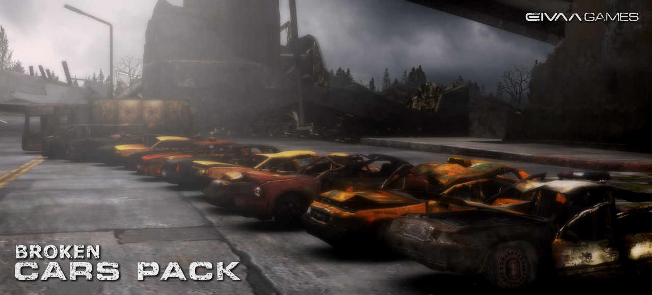 Broken Cars Pack